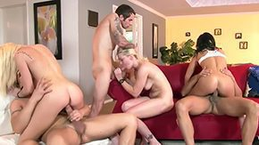 Joey Brass, 4some, Assfucking, Bend Over, Bimbo, Blowjob