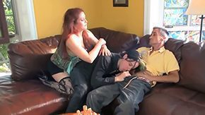 Threesome, Cougar, Granny Orgy, Group, Hairless, High Definition