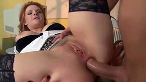 A Granny with Big Tits fucked by Young Stud