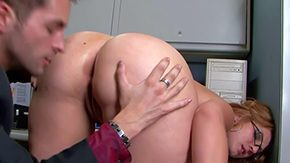 Free Ava Rose HD porn Ava Serrate is gorgeous bespectacled office battle-axe forth natural jugs positively dazzling bubble arse Man touches her perfect butt charges topless nipper blows his cock