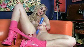 Katie Kay, Big Pussy, Big Tits, Blonde, Boobs, Dildo