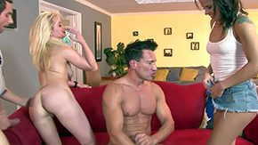 Maia Davis, Banging, Blonde, Blowjob, Brunette, Cigarette