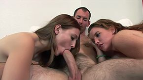 Senior, 3some, Amateur, Aunt, Blowjob, Brunette