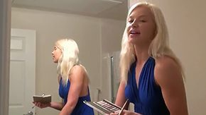 Anikka Albrite, Big Cock, Choking, Deepthroat, Gagging, Hairless