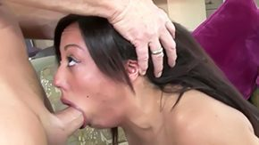 Alexa Cruz, Babe, Barely Legal, Blowjob, Boobs, Brunette