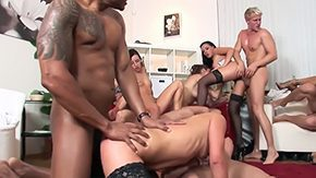 Ricki, Blowjob, Facial, Group, Hardcore, High Definition