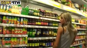 Free Wild Devil HD porn videos Blonde girl Nessa Devil strolls trhough store while her lover is recording her scoops her yea butt preparing himself for some appealing sex in