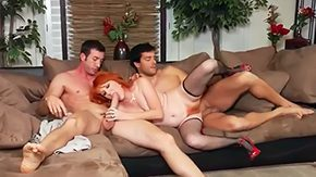 Sasha Brand High Definition sex Movies Redhead hooker Sasha Species with hanging boobs surrounded by cheep fishnet stockings gets her hairy twat tight butthole hammered heavy by hawt co-mates Jordan Ash Ramon surrounded by