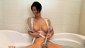 Black Mature, Bath, Bathing, Bathroom, Big Natural Tits, Big Nipples