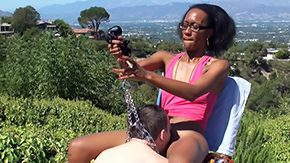 Shannon, Balcony, BDSM, Black, Black Teen, Dominatrix
