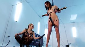 Electro, BDSM, Blonde, Boobs, Brunette, Domination