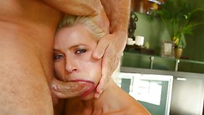 Deepthroat, Babe, Big Cock, Blonde, Choking, Deepthroat