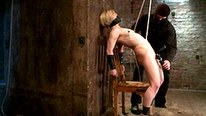 Needles, Anorexic, Babe, BDSM, Blonde, Bondage