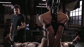 Elise Graves, BDSM, Bondage, Bound, Brunette, Caning