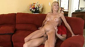 Milf Riding, Ball Licking, Best Friend, Blonde, Blowjob, Boobs