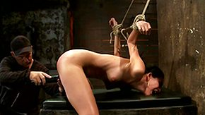 Tied Up, Anal Toys, Ass, Babe, BDSM, Bondage
