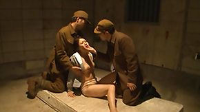 Free Army HD porn videos Female Prisoner Embarrassed unconnected with Also pressurize