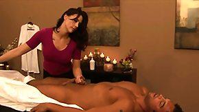 Massage, Amateur, Blowjob, Brunette, Hardcore, Massage