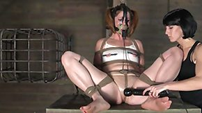 Punishment, BDSM, Bound, Brunette, Dominatrix, Femdom