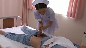 Hospital, Asian, Babe, Blowjob, Brunette, Clinic