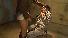 Spanking, Army, Asian, Asian Mature, Brunette, Domination