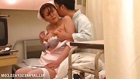 Clinic, Asian, Blowjob, Brunette, Clinic, Costume