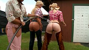 Cowgirls, 4some, Ass, Big Ass, Costume, Cowgirl