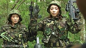 Army High Definition sex Movies Japanese Young lady Jemmy Privates are Captured
