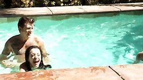 Emo, Babe, Emo, Outdoor, Pool, Punk