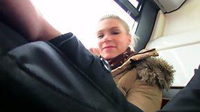 In Bus, Adorable, Allure, Amateur, Beauty, Blonde