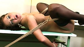 HD Anal Punishment Sex Tube Brunette hair gets punished by her sadistic master with anal mess around