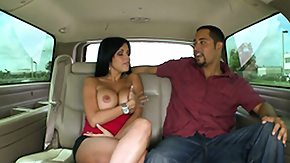 Car, Babe, Big Cock, Big Tits, Blowjob, Boobs