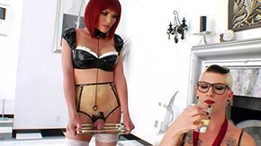 Free Redhed HD porn videos Eva Lin is his uncomplaining transsexual s&d slave Redhead in suggestive rubber implements makes sexual dreams reality this unusual featuring the above-mentioned pair of having crazy fun