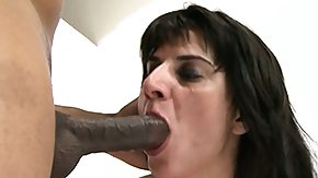 Mommy, Banging, Blowbang, Blowjob, Brunette, Fucking