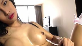 HD Asian Ladyboy tube Ladyboy from Asian are moaning us her large raw dick how she can wank it like insane Of course this harlot will sperm surrounded by end how tones of warm