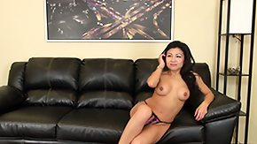 HD Jackie Lin Sex Tube Jackie Lin takes her sexy skirt off moreover whips out a vibrator