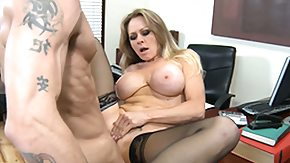 HD Dyanna Lauren Sex Tube Chunky tit Dyanna Lauren betwixt her nylons blows him picks up licked and fucked