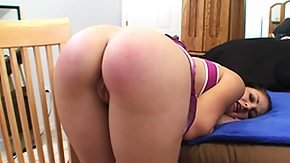 Free Spanking HD porn Brunette Charli gets her nice looking ass spanked til it's red