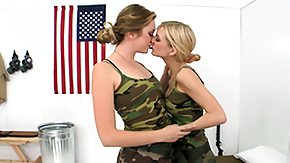 Army, Army, Babe, Blonde, Brunette, Costume