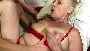 Fat Grannie, Angry, BBW, Blonde, Blowjob, Chubby