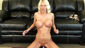 Free Riley Evans HD porn videos Riley Evans oils up whole inch of her sexy body to make it shine