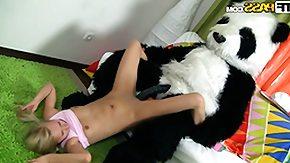 Panda Fucking, Blonde, Blowjob, Dirty, Fucking, Sex