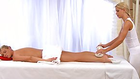 Lesbians Massage, Blonde, High Definition, Horny, Lesbian, Massage