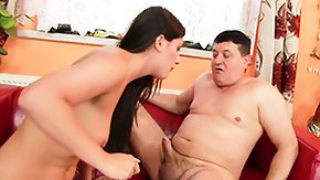 Free Erotic HD porn She gives him a erotic blowjob once only her snatch happily welcomes his dick