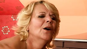 Hairy Mature, Beaver, Blonde, Blowjob, Bush, Experienced