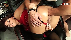 Free Anal Punishment HD porn Secretary Alysa has fucked up her work again and is getting punished with anal fisting