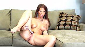 Syren De Mer, Big Pussy, Big Tits, Boobs, Brunette, Dildo
