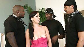Three, Banging, Black Orgy, Black Swingers, Brunette, Gangbang