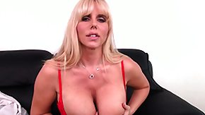Karen Fisher, Big Tits, Blonde, Boobs, Masturbation, Mature