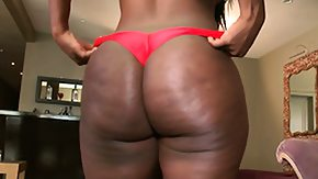 Chanel Staxxx HD porn tube Big ass ebony Chanel Staxxx gets undressed and shows her plump ass